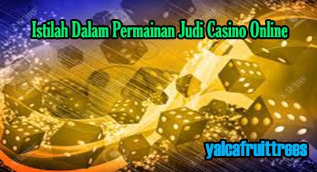 istilah dalam judi casino online